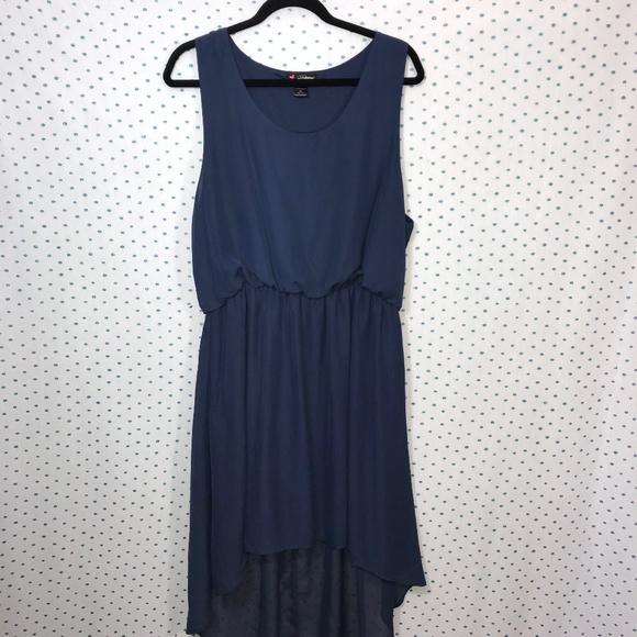 Love Delirious Dresses Plus Size Blue Hilow Blouson Dress Poshmark